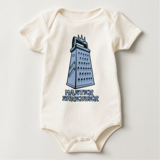 Master Shredder (cheese grater) Baby Bodysuit