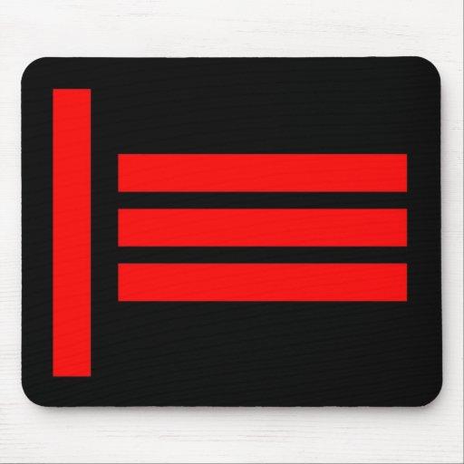 Master/Slave, Dom/Sub Flag Mouse Pad