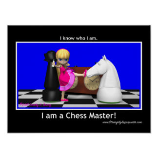 Master the Game (Chess Master) Poster