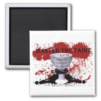 Master the Taint 2 Inch Square Magnet