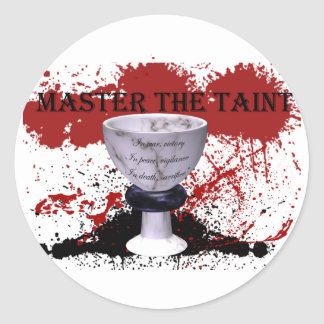 Master the Taint Classic Round Sticker