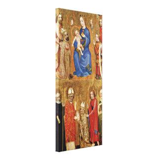 Master Theodoric of Prague - Prague Archbishop Stretched Canvas Print