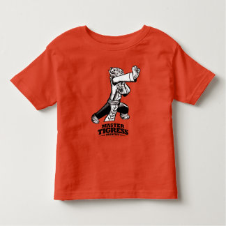 Master Tigress Ironfist Toddler T-shirt