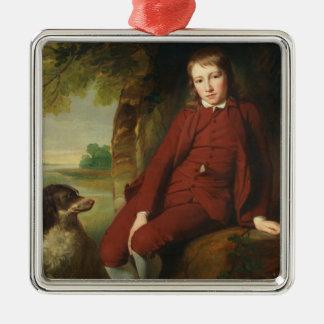 Master Ward (oil on canvas) Metal Ornament