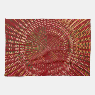 Master Weave Energy Mandala Kitchen Towel