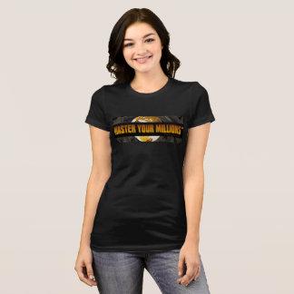 Master Your Millions (TM)  Women's Bella+Canvas T-Shirt
