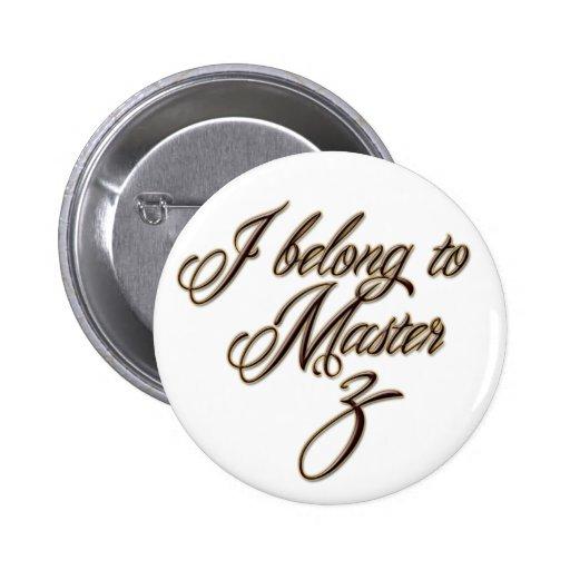 Master Z Pinback Button