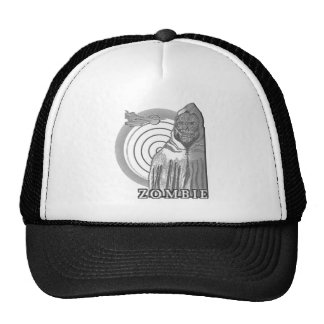 Master Zombie Black and Grey Trucker Hat
