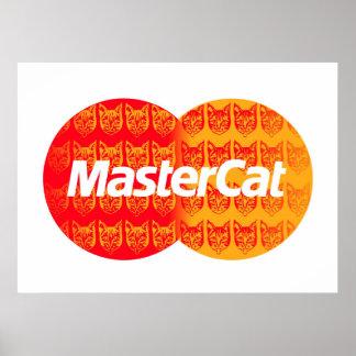 Mastercat Póster