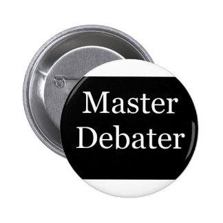 MasterDebater Pinback Button