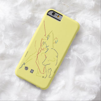 Masterful FundaIPhone- Sketcher Barely There iPhone 6 Case