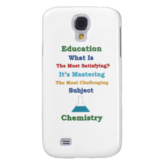 mastering satisfying Chemistry 3D Samsung Galaxy S4 Covers