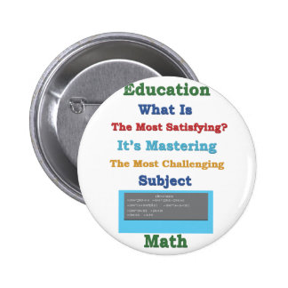 mastering satisfying Math 3D 2 Inch Round Button