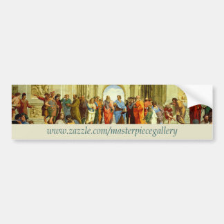 Masterpiece Gallery Logo, Image, Title and URL Bumper Sticker