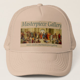 Masterpiece Gallery Logo, Image, Title and URL Trucker Hat