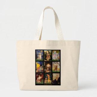 Masterpiece Golden Retrievers Bags