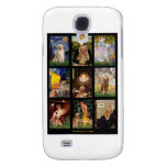 Masterpiece Golden Retrievers Galaxy S4 Cases