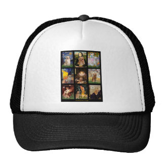 Masterpiece Golden Retrievers Trucker Hat