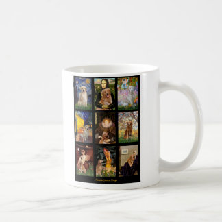 Masterpiece Golden Retrievers Coffee Mugs