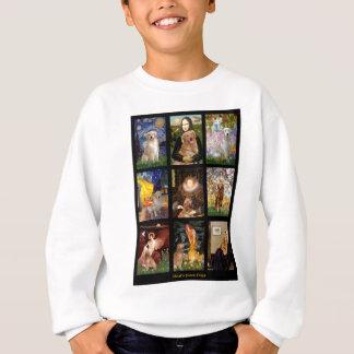 Masterpiece Golden Retrievers Sweatshirt