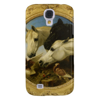 Masterpiece horse & dove painting John Herring Galaxy S4 Covers