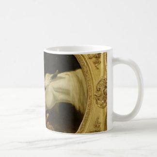 Masterpiece horse & dove painting John Herring Mug