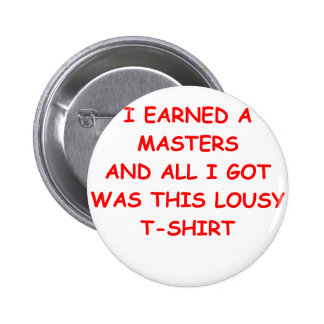 masters degree buttons