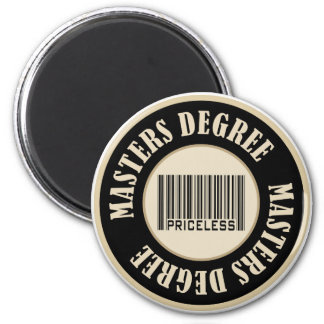Masters Degree Priceless Magnet