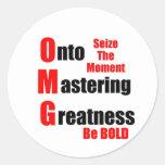 Masters Etiquetas Redondas