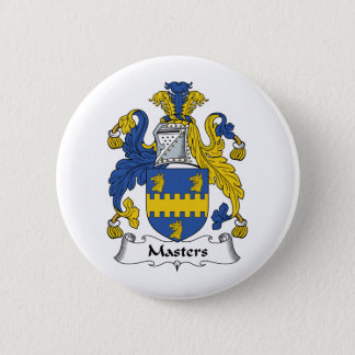 Masters Family Crest Button