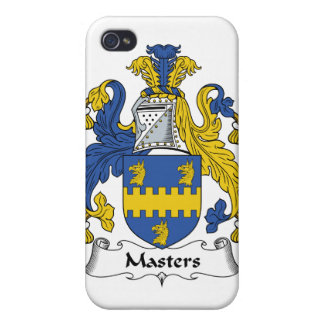 Masters Family Crest iPhone 4 Cover