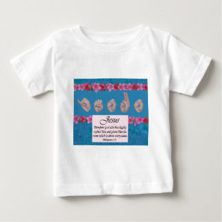 Master's Hand Collection Jesus Name Above All Baby T-Shirt