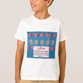 Master's Hand Collection Jesus Name Above All T-Shirt