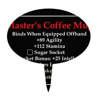 Master's Mug Cake Topper