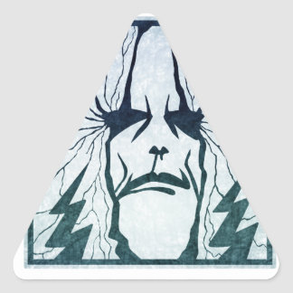 Masters Of Thunder Triangle Sticker