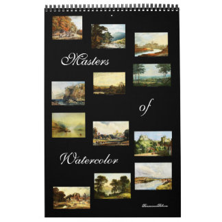 Masters of Watercolor 2014 Art Calendar (Standard)