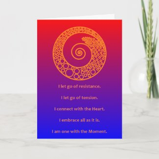 MASTERY-MANTRA OF THE MOMENT - DESIGN 3 - CARD