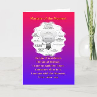 MASTERY-MANTRA OF THE MOMENT - GREETING CARD