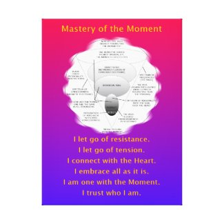 MASTERY OF THE MOMENT - CANVAS PRINT