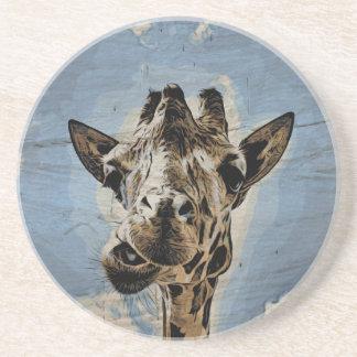 Masticación de la jirafa posavasos manualidades