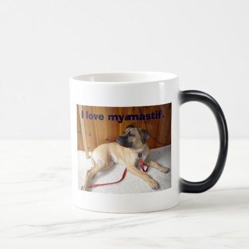 Mastif, amo mi mastif. tazas