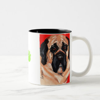 Mastif Two-Tone Coffee Mug