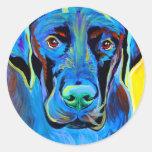 Mastiff #2 round sticker