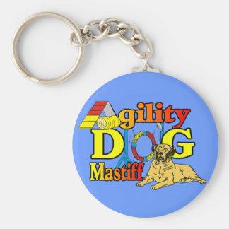 Mastiff Agility Dog Gifts Keychain