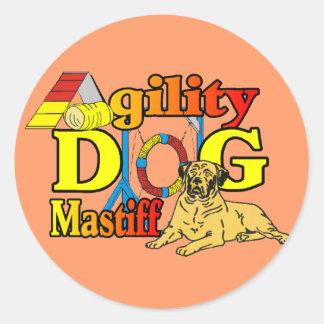 Mastiff Agility Dog Gifts Sticker