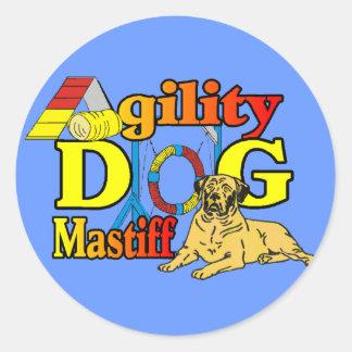 Mastiff Agility Dog Gifts Stickers