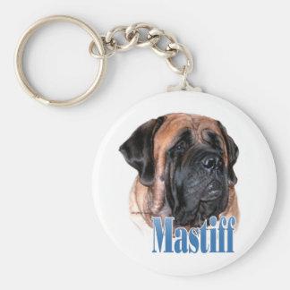Mastiff (apricot2) Name Keychain