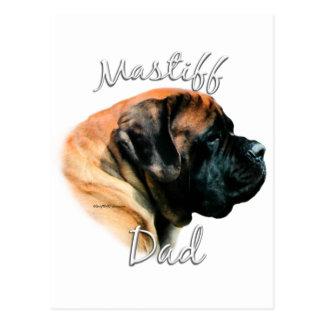 Mastiff (apricot) Dad 2 Postcard