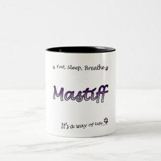 Mastiff Breathe plum Mug