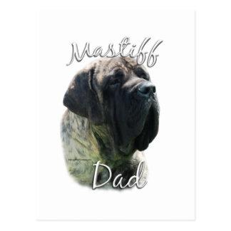 Mastiff (brindle) Dad 2 Postcard